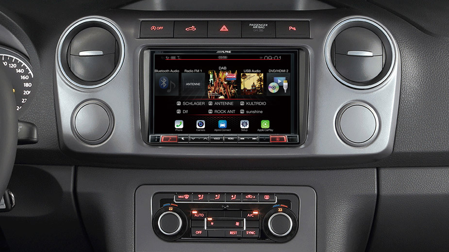 X802DC-U Navigation System in VW Amarok with DAB Radio Bluetooth DVD
