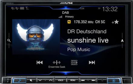 DAB+ Digital Radio - X803D-U