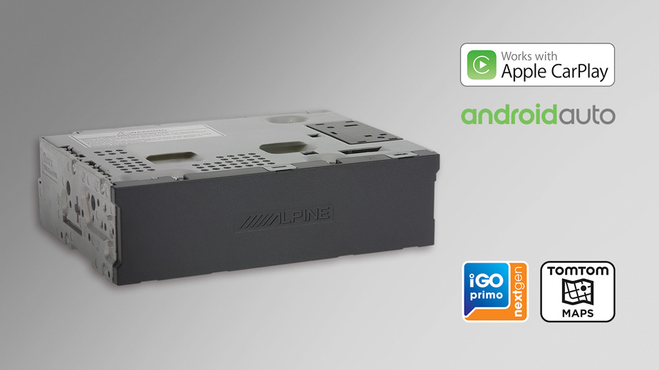 X902D-EX - Media Box with TomTom maps, compatible with Apple CarPlay and Android Auto