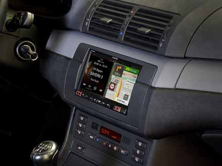7-inch navigation system designed for BMW 3-series E46