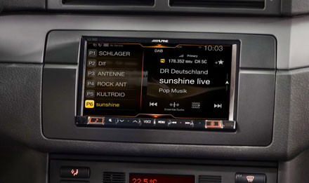 BMW 3 E46 - DAB Digital Radio - iLX-702E46