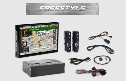 All parts included - Freestyle Navigation System X903DC-F