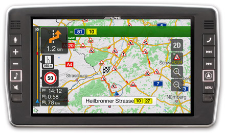 Mercedes Sprinter - Navigation - Plan Your Route  - X903D-S906