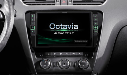 Skoda Octavia Start-up Screen  - X903D-OC3