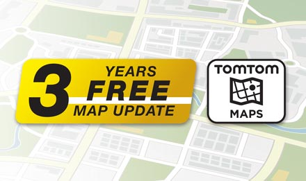 TomTom Maps with 3 Years Free-of-charge updates - X902D-G7